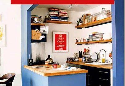 12 pomysłów na małą kuchnię