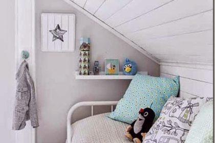 Trendy w pokoju dziecięcym: lisek