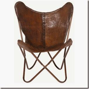 Krzesło w roli głównej : Butterfly chair