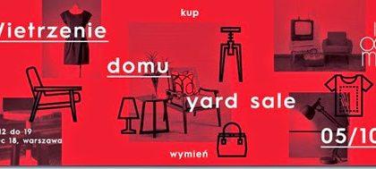 Leniwa niedziela, czyli popołudnie na Yard Sale