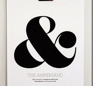 Trendy: niezwykła popularność znaku &, czyli ampersand we wnętrzach