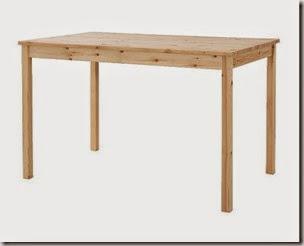 METAMORFOZY IKEA: Stół Ingo