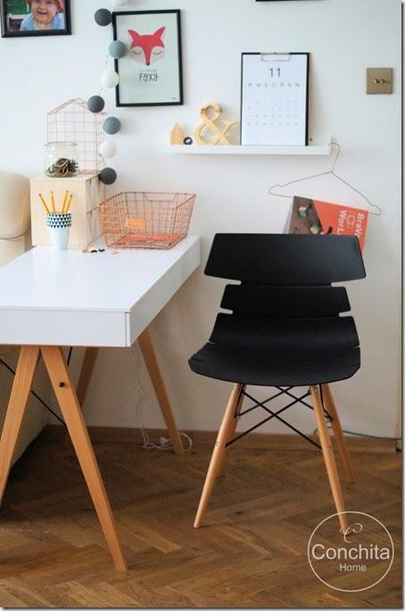 Domowe biuro:moje krzesło