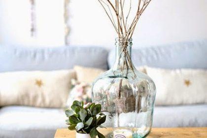 TRENDY: gąsiorki jako szklane wazony