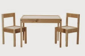 METAMORFOZY IKEA: stolik LÄTT