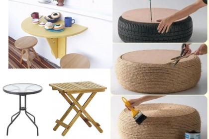 AKCJA BALKON: 10 pomysłów na balkonowy stolik
