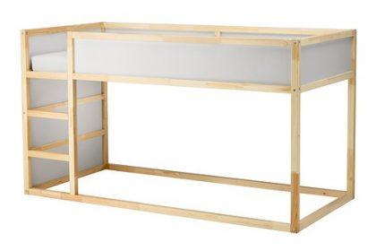 METAMORFOZY IKEA: niezwykłe przemiany łóżka KURA
