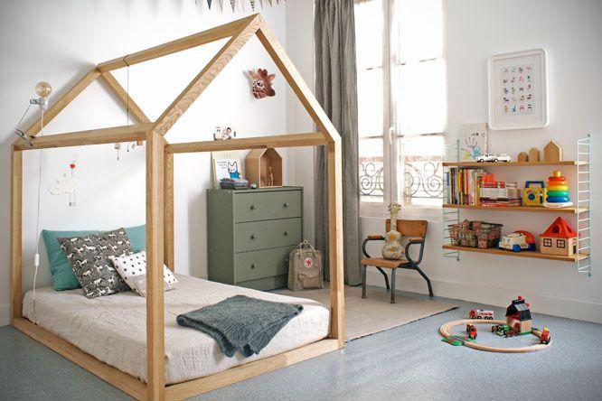 TRENDY W POKOJU DZIECIĘCYM: łóżka domki