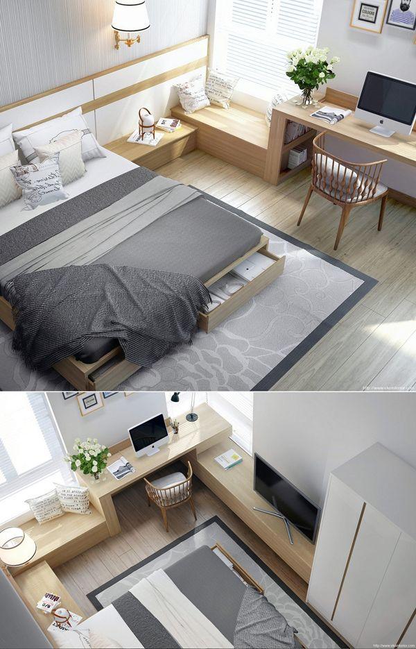 Funkcjonalne sypialnie