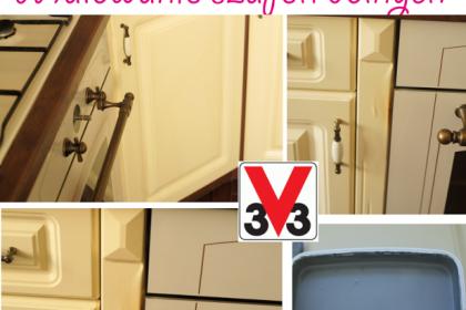 PROJEKT KUCHNIA #3: Jak przerobić szafki kuchenne z MDF? Zrywać czy zostawić okleinę?