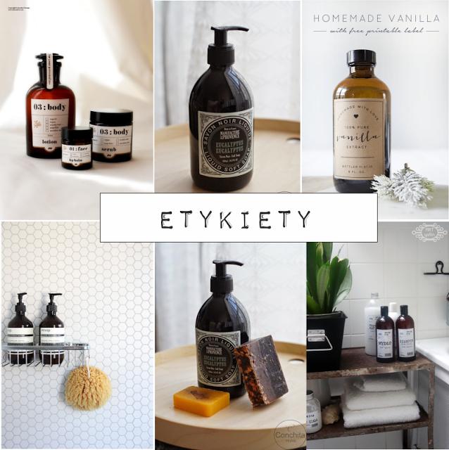 DIY etykiety na kosmetyki do wydrukowania