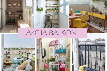 AKCJA BALKON: 10 pomysłów na wąski balkon
