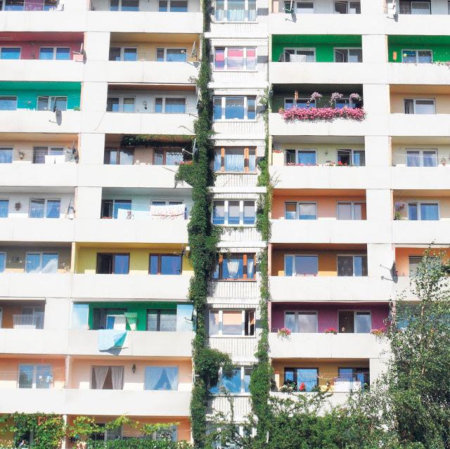 10 pomysłów na wąski balkon