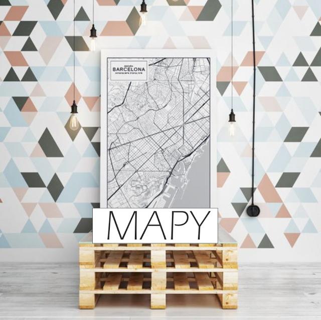 TRENDY: mapy