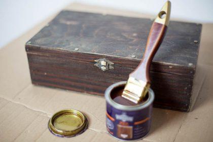 ŚLUBNE DEKORACJE: Skrzynka na koperty DIY