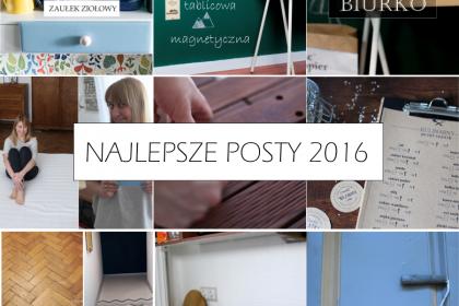 TOP 5: NAJLEPSZE POSTY Z 2016