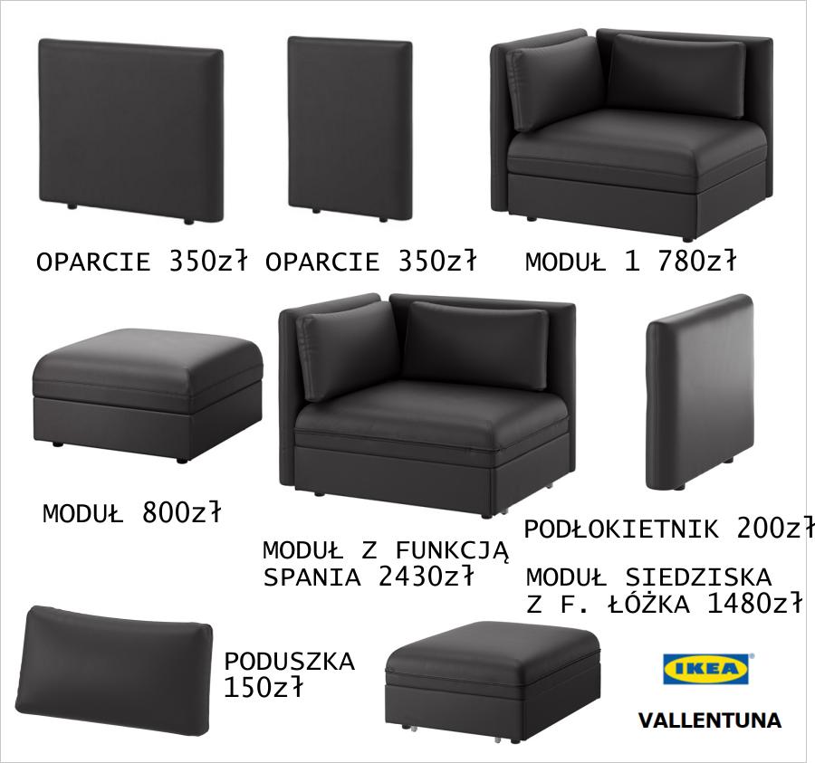 Vallentuna Jedna Sofa Wiele Możliwości Conchitahomepl