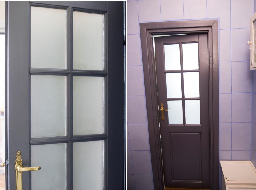 Projekt łazienka 2 Malowanie Drzwi Conchitahomepl