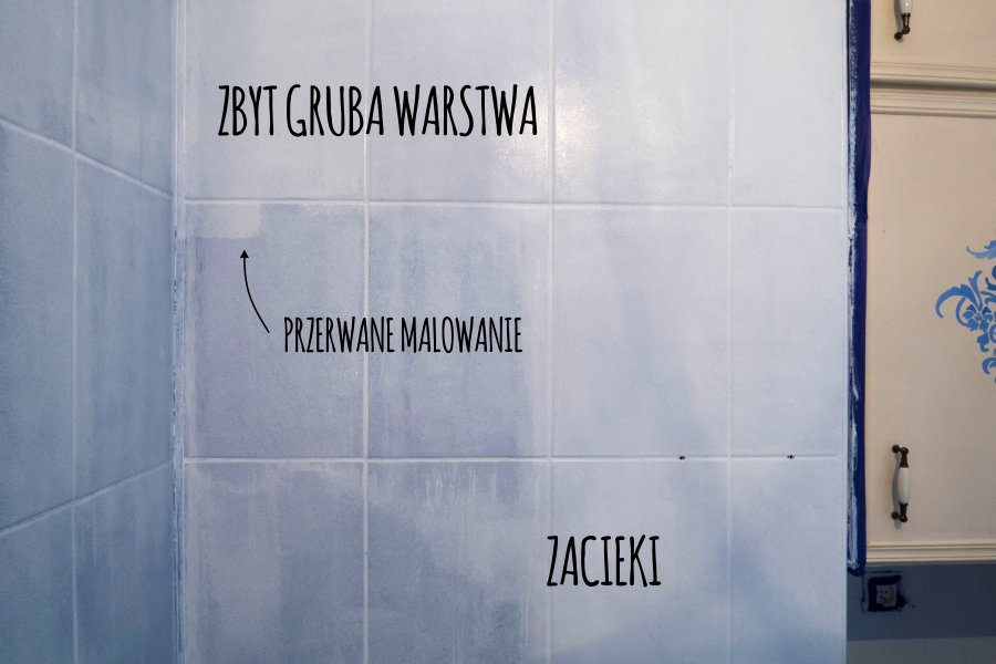 Projekt łazienka 3 Malowanie Glazury Conchitahomepl