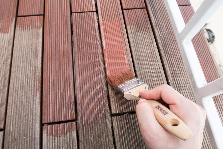 Jak dbać o drewniany taras?
