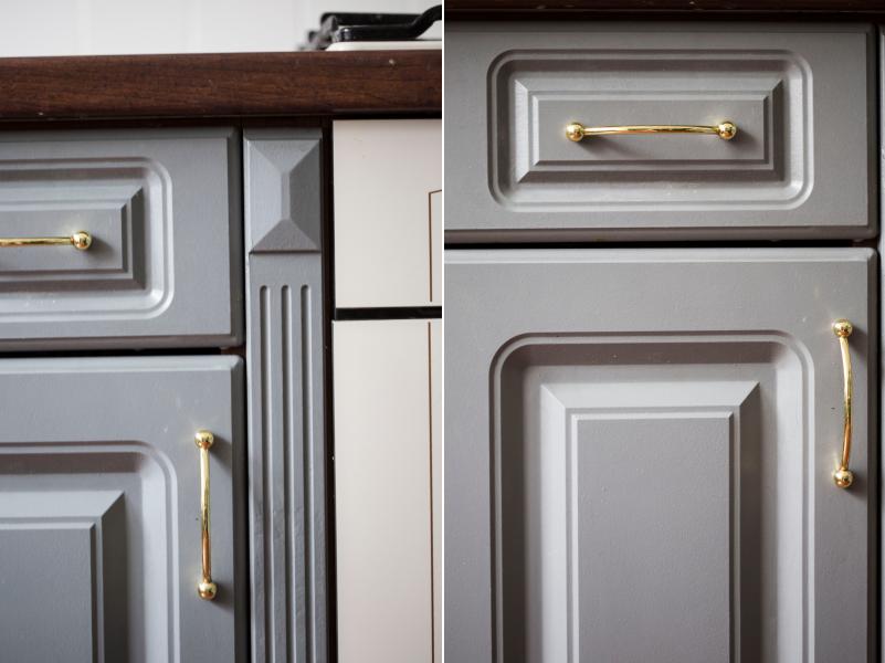 Jak wyglądają malowane szafki kuchenne i glazura po roku