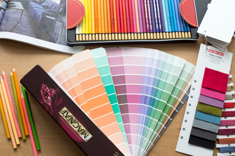 Jak dobierać kolory we wnętrzach?