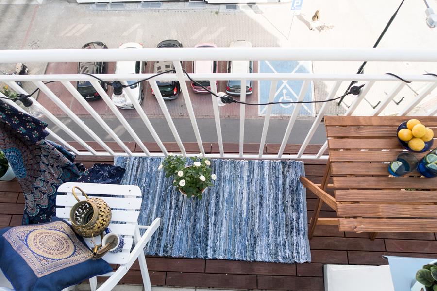 orientalny balkon