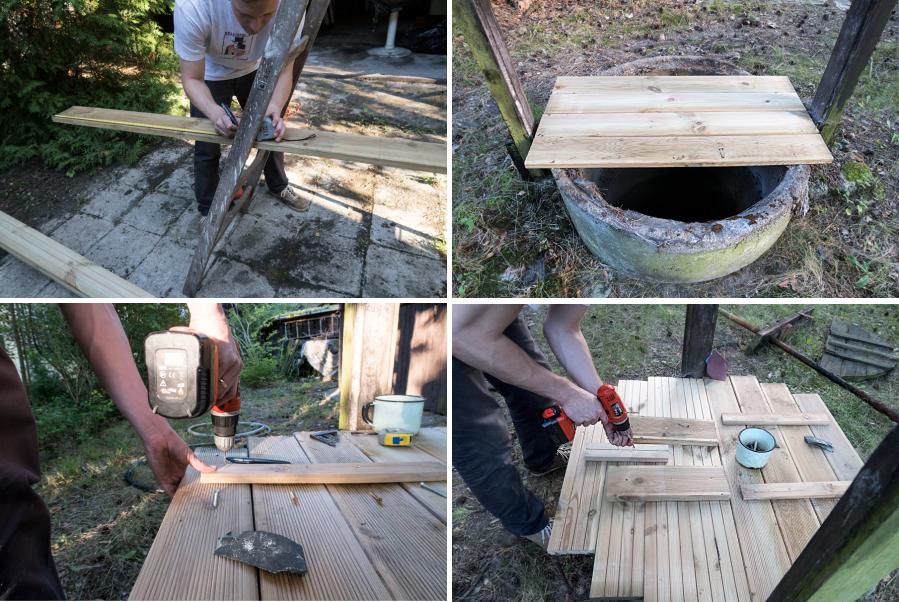 renowacja starej studni DIY