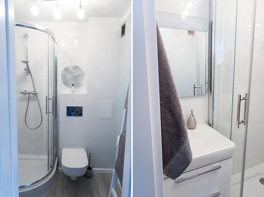 Projekt Mieszkanie 3 Mała łazienka Conchitahomepl