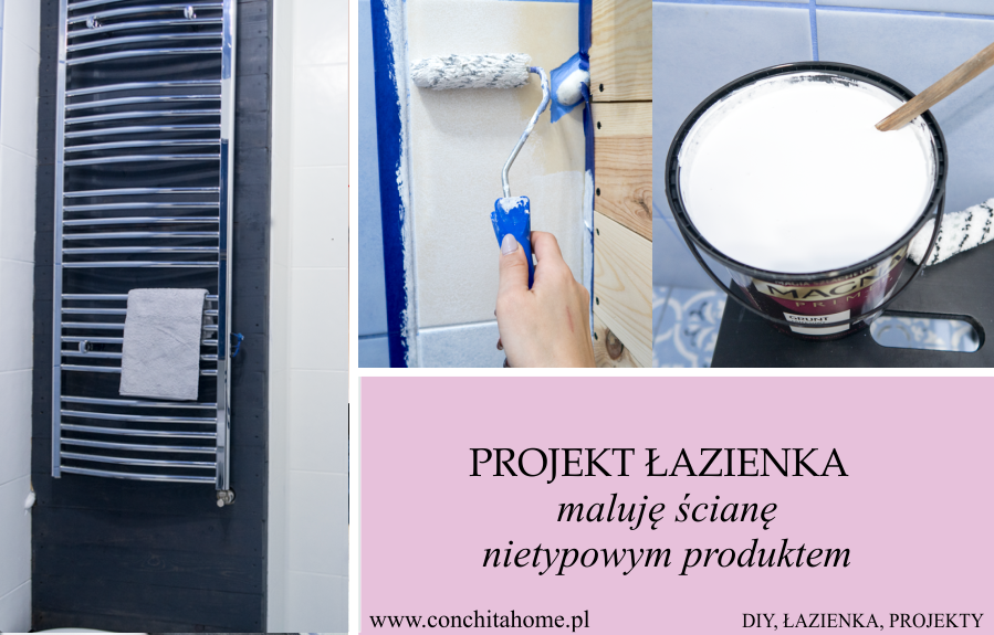 Alternatywny sposób na malowanie glazury w łazience #9