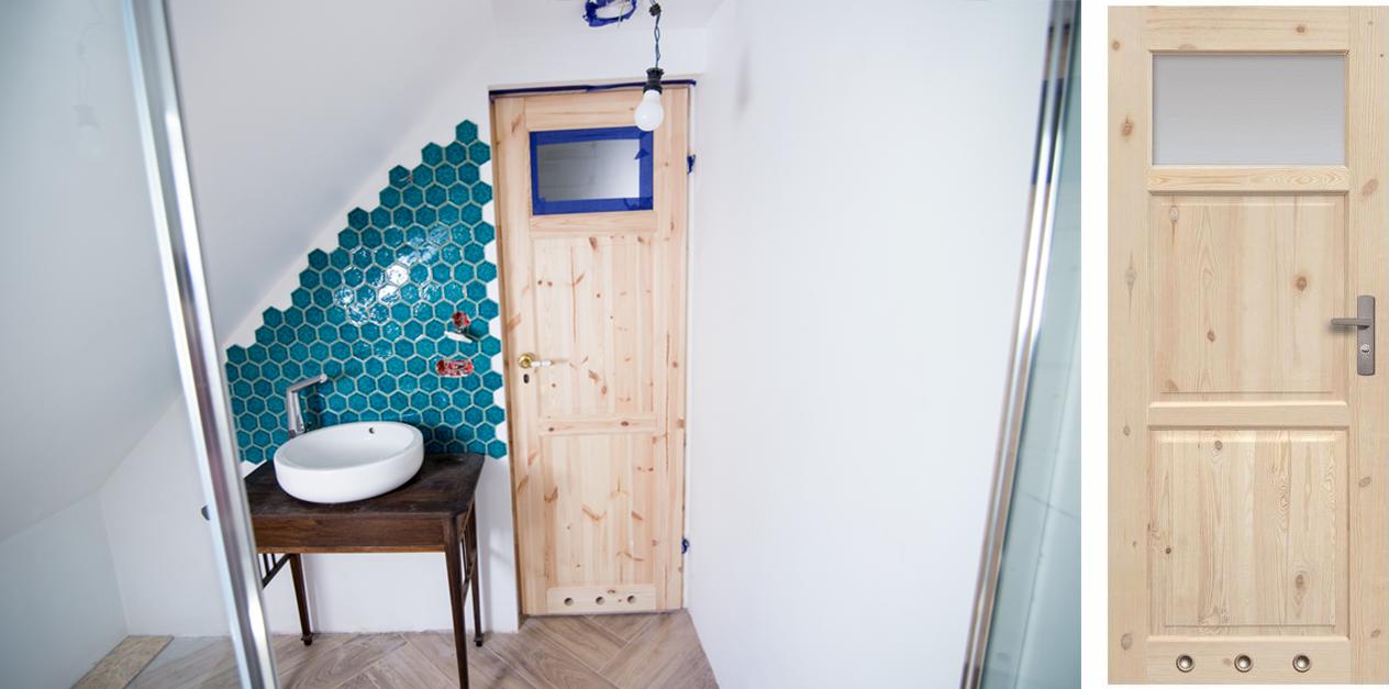 Stary Dom Diy Drzwi Do łazienki Conchitahomepl