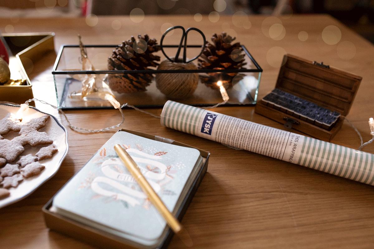 Pakowanie prezentów + życzenia