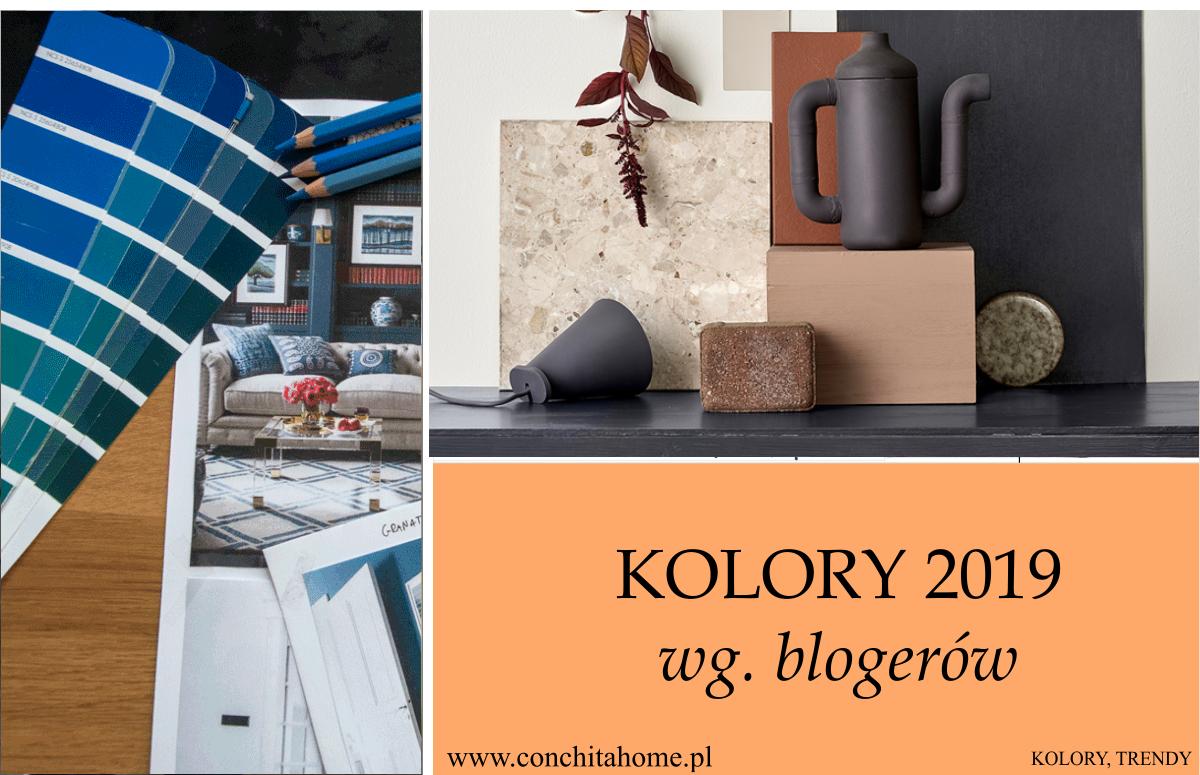 TRENDY: Modne kolory w 2019 wg. blogerów