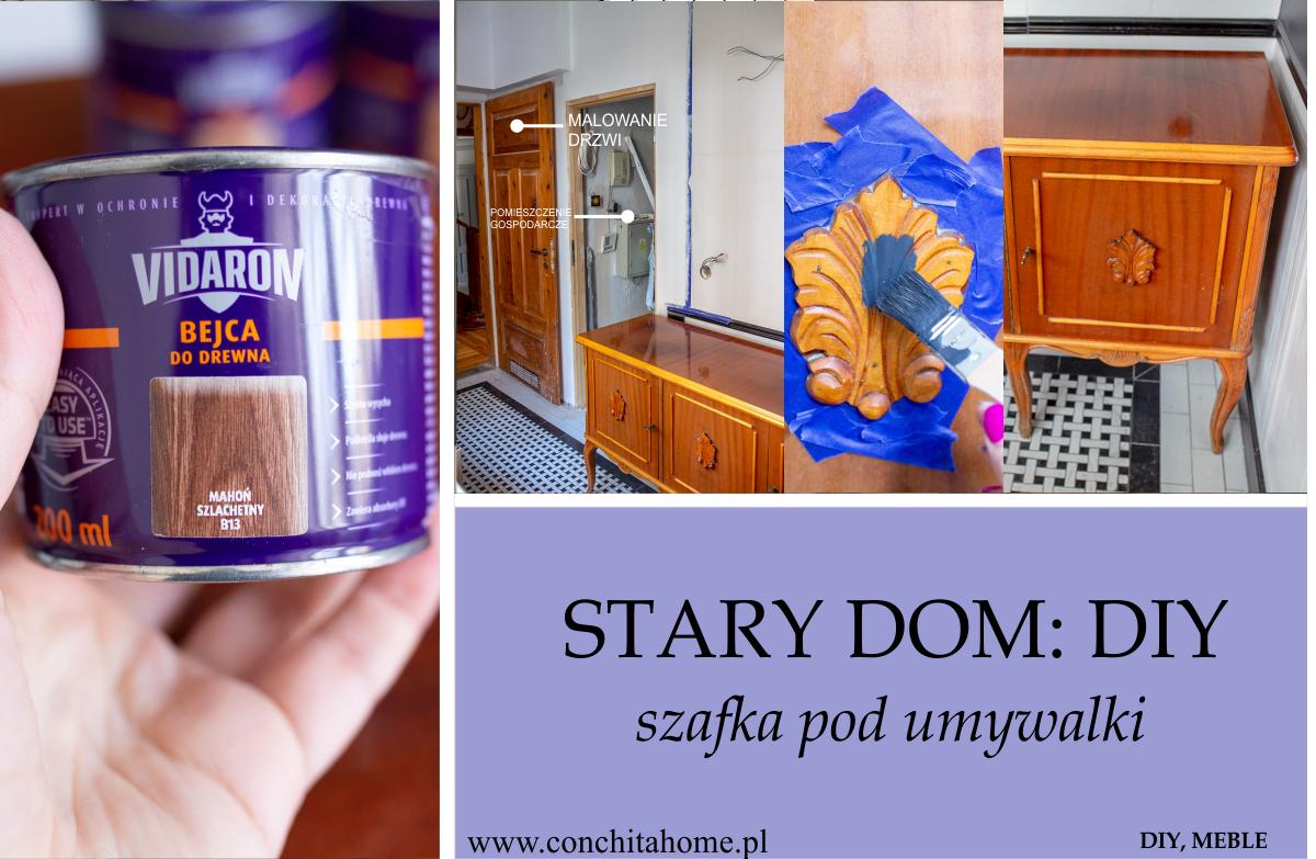 DIY: Metamorfoza szafki pod umywalkę