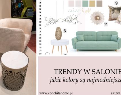Trendy w salonie 2019, jaka kolorystyka mebli jest najmodniejsza?