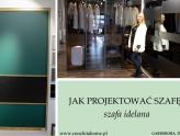 Jak zaprojektować idealną szafę? - moja wizyta w salonie KOMANDOR