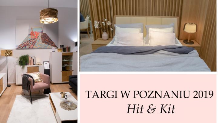 2019 TARGI MEBLOWE W POZNANIU - KOLORY, TRENDY, WZORY