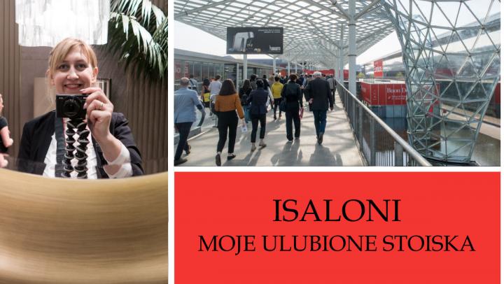 MEDIOLAN - ISALONI - MOJE ULUBIONE STOISKA