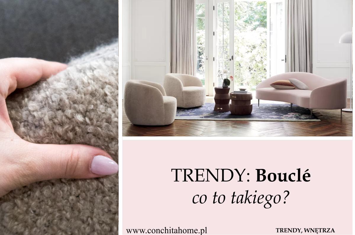 TRENDY 2019: Bouclé