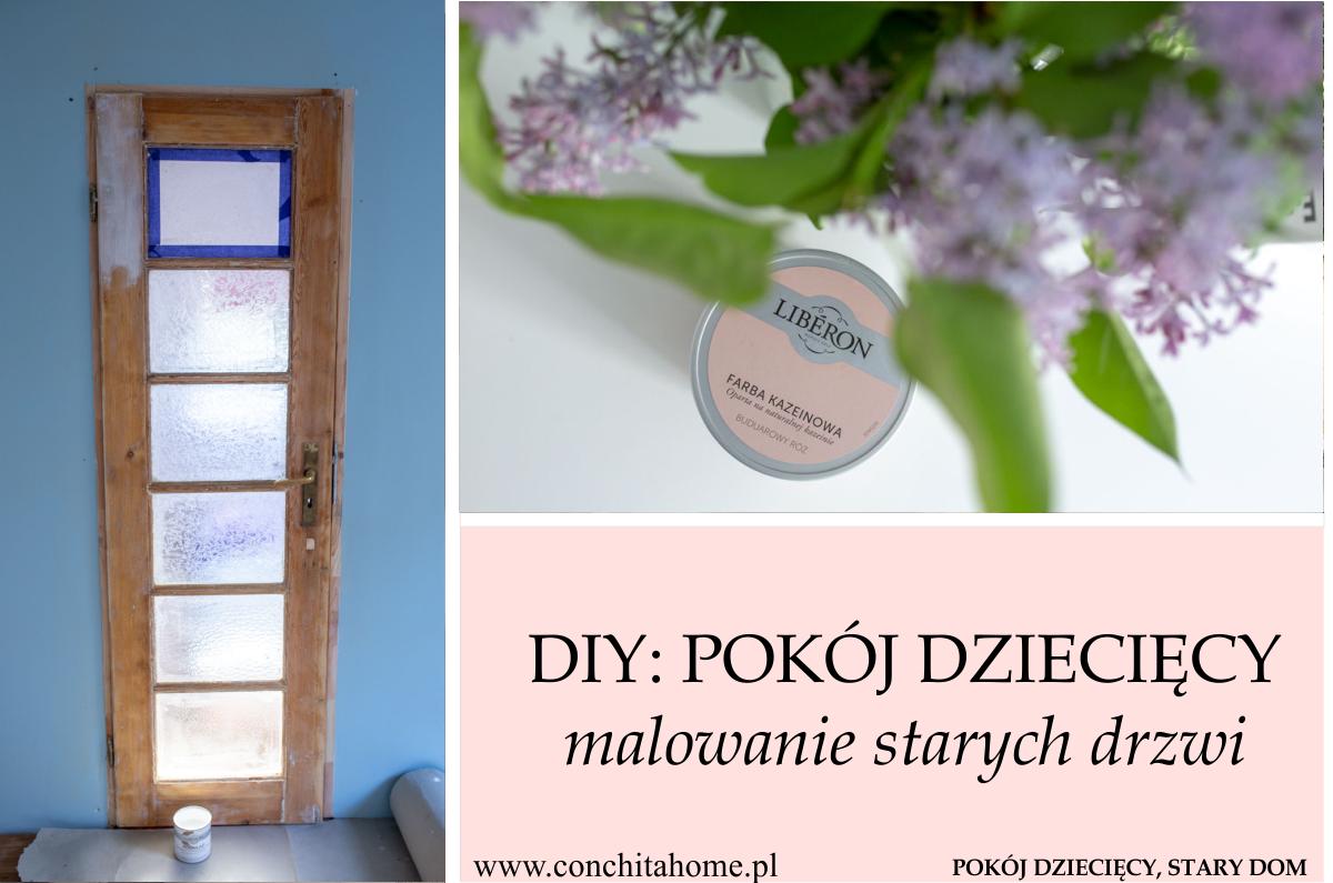 DIY: metamorfoza drzwi w pokoju dziecięcym