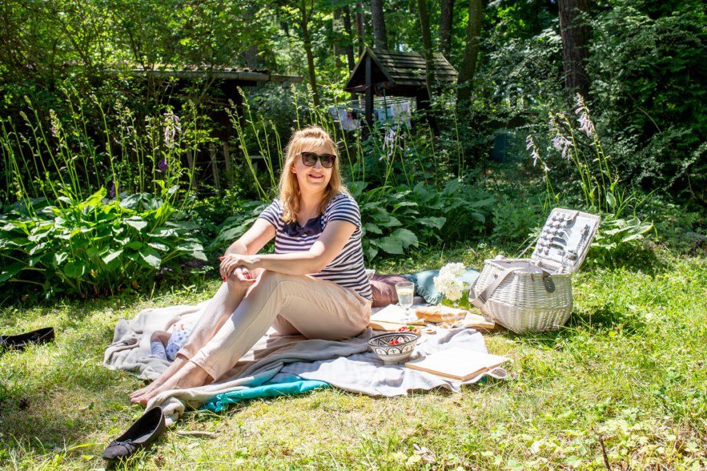 moje sposoby na relaks w ogrodzie