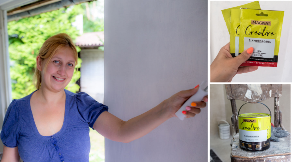 malowanie ścian w przedsionku