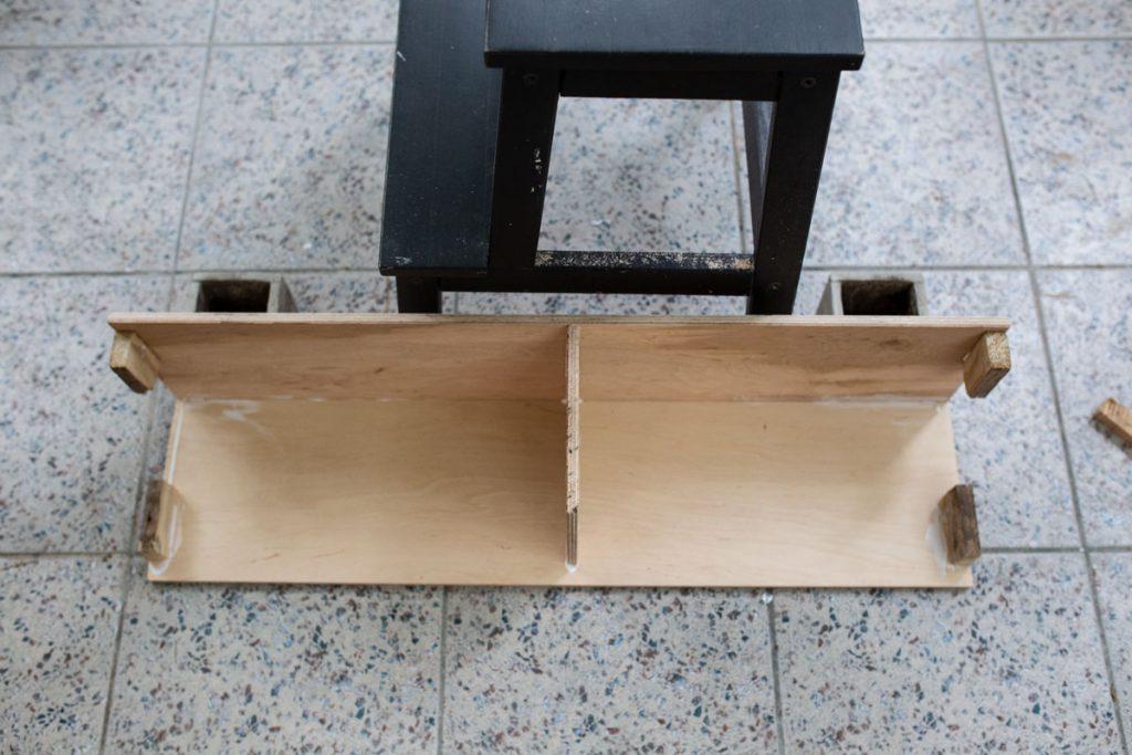 Portal kominkowy DIY