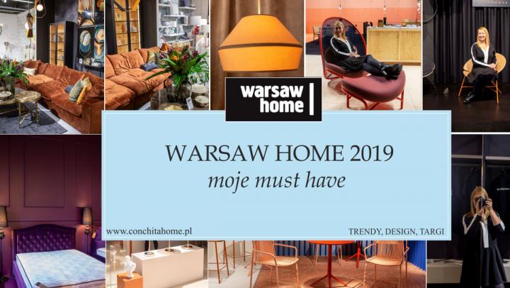 """TRENDY: Wnętrzarskie """"must have"""" z WARSAW HOME"""