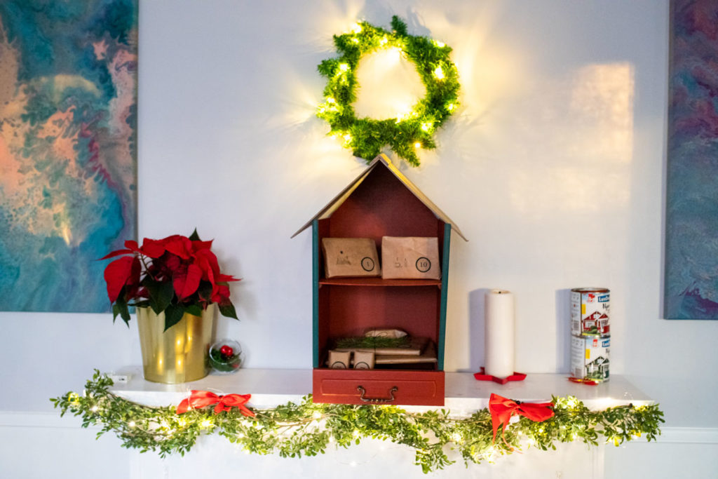 domek świętego Mikołaja